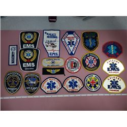 15 Paramedic patches
