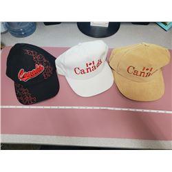5 brand new hats (Canada)
