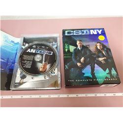 CSI NY on DVD - first season