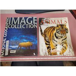 2 coffee table books