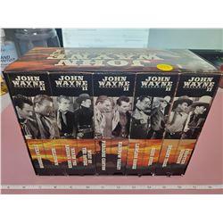 John Wayne set DVD's