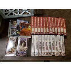 LOT OF WILD WILD WEST VHS'S