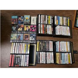 LOT OF CASSETTES (ELVIS & OTHERS)
