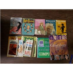 LOT OF BOOKS (HUCKLEBERRY FINN, OTHERS)