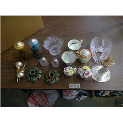 Lot of Glass Décor