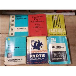 GM VAUXHALL PARTS CATALOGUES