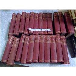 Vintage Set of 23 Mark Twain's Works - Hardcovers