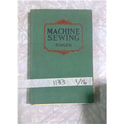 Vintage Singer Sewing Machine Teaching Manual for HomeEc