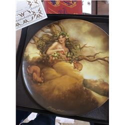 Collectible Plate - Elements of Earth