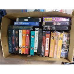 Lot of VHS Tapes