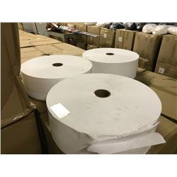 11 ROLLS OF WHITE NON WOVEN MASK FILTER FABRIC