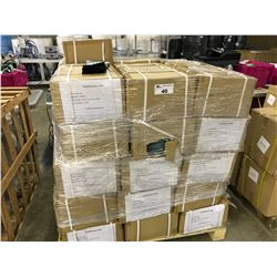 PALLET OF BRANDED FACE MASK POLY BAGS