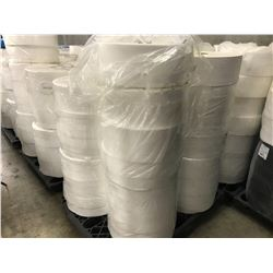 PALLET OF WHITE NON WOVEN MASK FABRIC