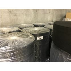 PALLET OF BLACK NON WOVEN MASK FABRIC