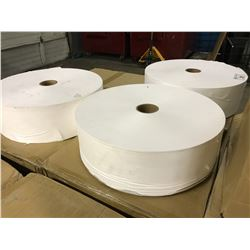PALLET OF WHITE NON WOVEN MASK FILTER FABRIC