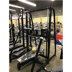 VERTICAL LEG PRESS STATION