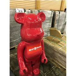 BEARBRICK KAWS COLLECTION STATUE 48  TALL AUTHENTICITY UNKNOWN