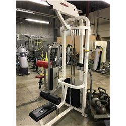 LIFE FITNESS LATERAL PULL DOWN STATION