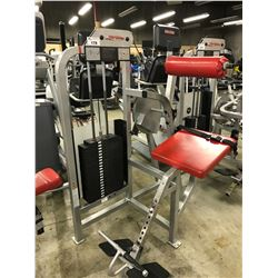 LIFE FITNESS LOW BACK EXTENSION STATION
