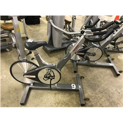 KEISER M3 SPIN BIKE WITH BROKEN TENSION ADJUSTER