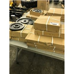 **WEIGHT PLATES NOT INCLUDED UNLESS SPECIFIED IN THE LOT DESCRIPTION - SOLD IN LOTS 365-372