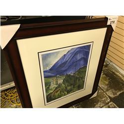 "EMILY CARR LIMITED EDITION PRINT "" PEMBERTON MEADOWS"" 309/950"