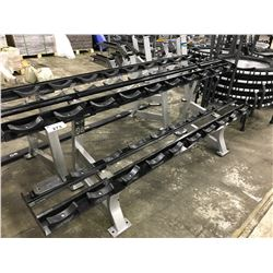 HAMMER STRENGTH 2 TIER 20 SLOT DUMBBELL BENCH