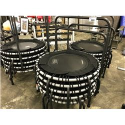 LOT OF 5 MINI FITNESS TRAMPOLINES