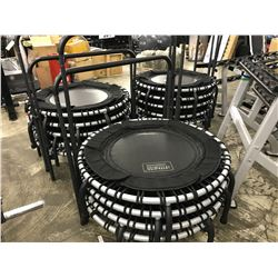 LOT OF 4 MINI FITNESS TRAMPOLINES