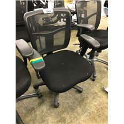 BLACK  MIDBACK MESH TASK CHAIR