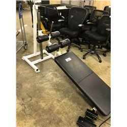 APEX UTILITY SLANT BOARD SIT UP/CRUNCH BENCH