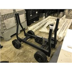 BLACK PLATE WEIGHT CART