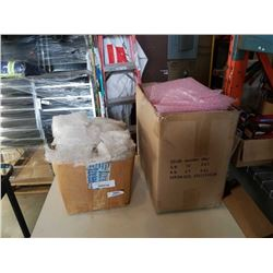 2 BOXES OF SHIPPING BUBBLE BAGS