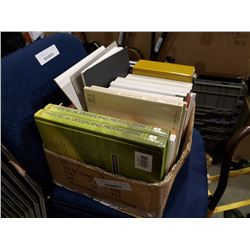 BOX OF ARCHITECHURAL, THEATRICAL AND OTHER TEXT BOOKS