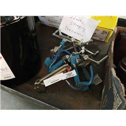 Five plastic strapping tensioners