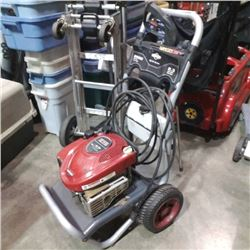 BRIGGS AND STRATTON GAS POWER WASHER WITH HOSE AND WAND