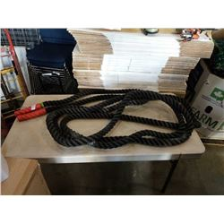 EXERCISE WORKOUT ROPE - 30 FOOT