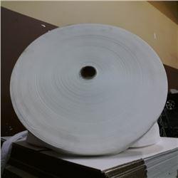 Huge roll of toilet paper