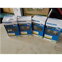 3 BOXES PHILIPS COLOUR CHANGING STARBURST CHRISTMAS LIGHTS LED AND ONE SNOWFLAKE