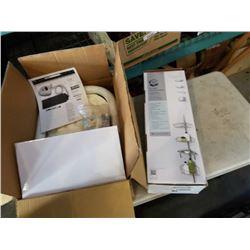 Hi-oxy ultrasonic home spa & New zenna shower caddy shelf