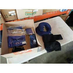 Box of new womens workout gear