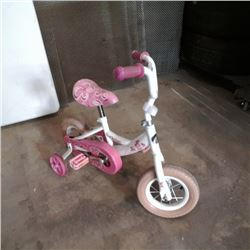 Avigo kids bike with training wheels
