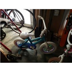 Huffy kids bike with training wheels