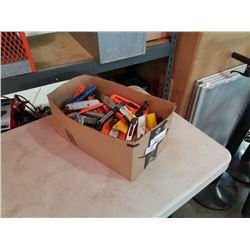BOX OF BOX CUTTERS, EXACTO KNIVES