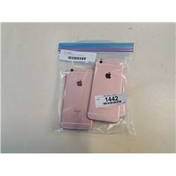3 APPLE IPHONE 6S - ROSE GOLD