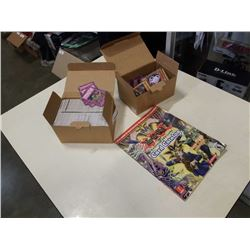 BOX OF YUGIOH CARDS AND STRATEGY GUIDE