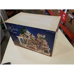 Christmas nativity scene in box