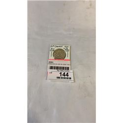 "1950 CANADIAN SILVER 50 CENT TYE 3 W/ DESIGN IN ""O"" .800 SILVER"