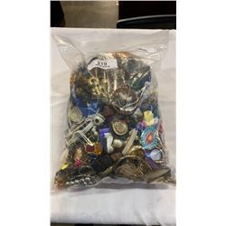 LARGE BAG OF JEWELLERY