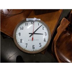 Vintage school westclox wall clock